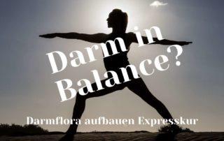 Darmflora aufbauen - Darm in Balance