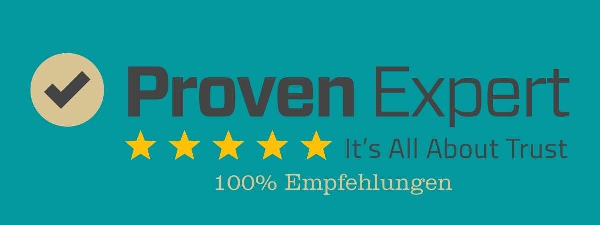 Osteopathie Besel ProvenExpert 100% Empfehlungen