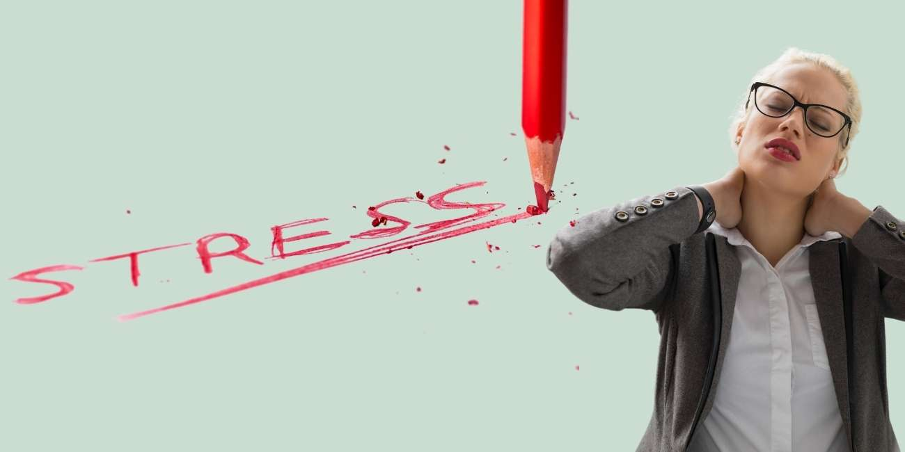 Verspannungen durch Stress